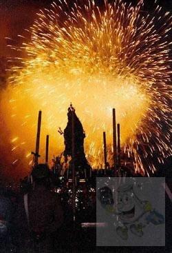 Suggestiva foto dell' Arca di N.S. del Suffragio